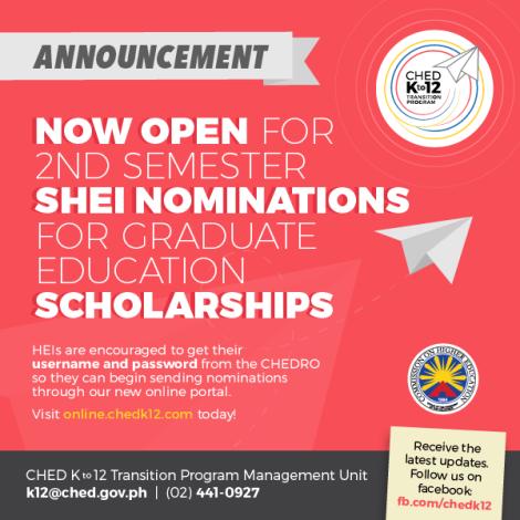 Press Release - SGS Second Sem Nominations